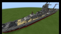 IJN Oyodo japanese cruiser 1:1 scale Minecraft Map & Project