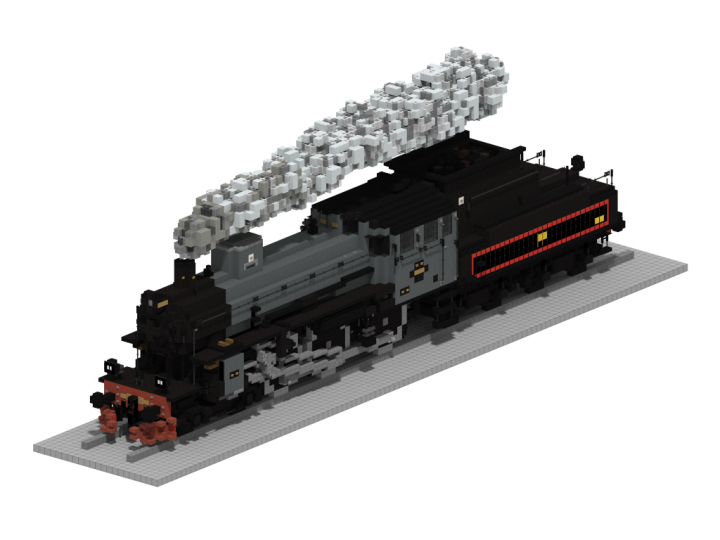 Popular Project : SJ Littera B | 5:1 Steam train