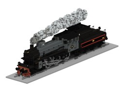SJ Littera B | 5:1 Steam train Minecraft Map & Project