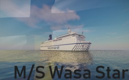 M/S Wasa Star Minecraft Map & Project