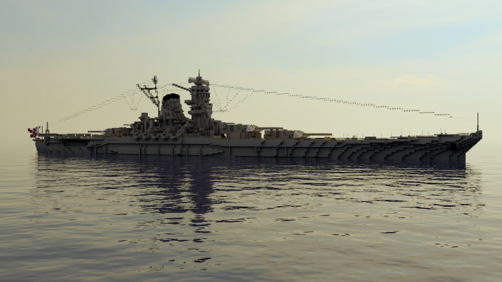 Popular Server Project : IJN Yamato | 1:1 Japanese battleship