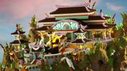 Moon Temple -  Garden of Sky Hope by PAV Minecraft