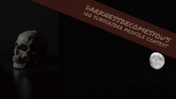 Popular Blog : darknessbecomesyou's 100 subscriber contest + q&a-faq