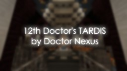 Doctor Who | TARDIS Interior (series 9-10 era) Minecraft Map & Project