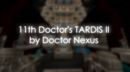 Doctor Who | TARDIS Interior (series 7b era) Minecraft Map & Project