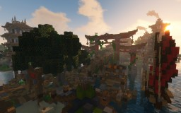 Map BdHR - Epic Asia City Minecraft