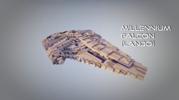 Lando Calrissian's Millennium Falcon Minecraft Map & Project