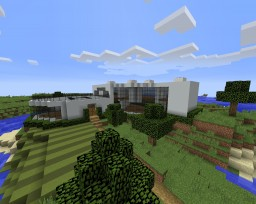 Modern House 51 Minecraft Map & Project