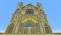 "AoE-II Franks Wonder ""Chatres Cathedrals"" Minecraft Map & Project"