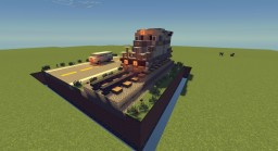 The Car and the Train Minecraft Map & Project