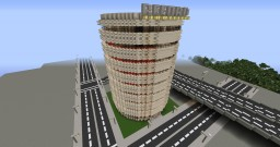 sandstone record building Minecraft Map & Project