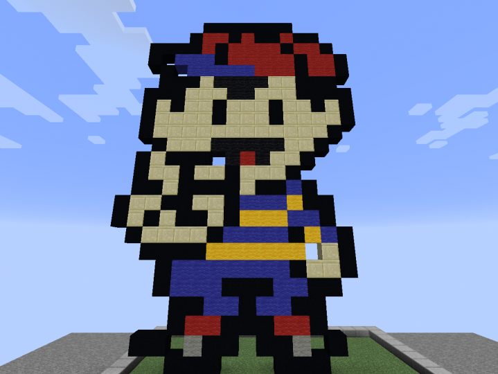 Ness from Earthbound or Mother 2