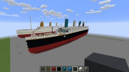 RMS Olympic dazzle camouflage Minecraft Map & Project
