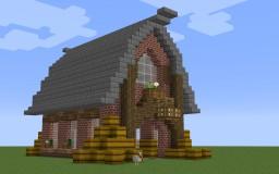 Simple Farmhouse Minecraft Map & Project