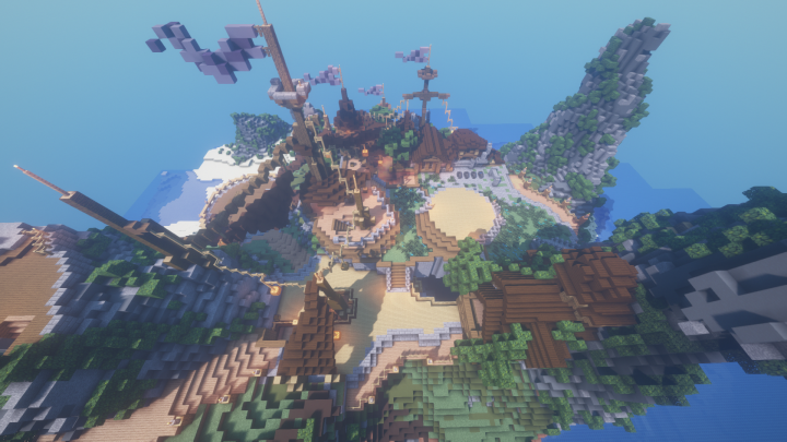 1.13.2 Hunger Games Adventure Map [Download] Minecraft Map