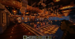 Dreadnought Shipyard Minecraft Map & Project