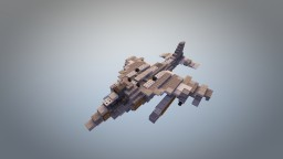 AV-8B Harrier Jump Jet Minecraft Map & Project