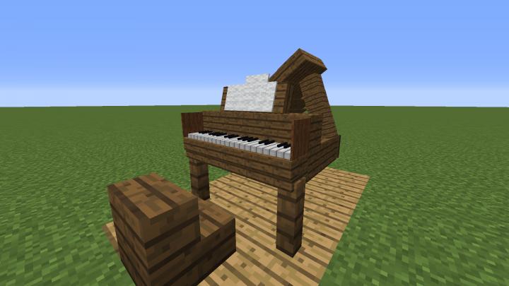 Minecraft Armorstand Piano Schematic Minecraft Map