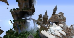 Old Temples in the mountains and forgotten fort Minecraft Map & Project
