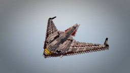 "B-65 Suborbital Long-Range Bomber ""Shortsword"" Minecraft"
