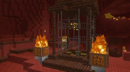4 Nether Structures for Minecraft Minecraft Map & Project