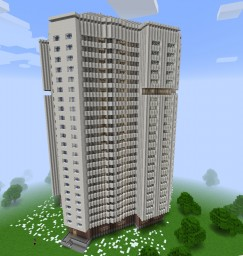 Typical residential house series Ear/Типовой жилой дом серии Колос Minecraft Map & Project
