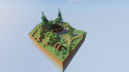 House In A Hill Minecraft