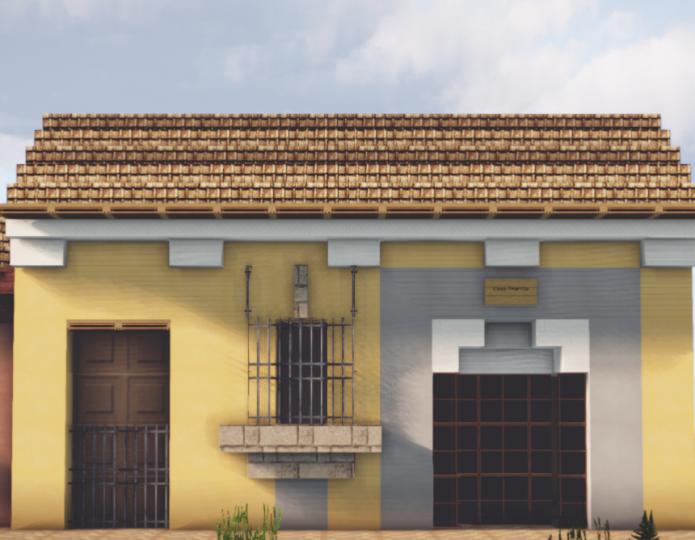 Casa amarilla santiago de los caballeros guatemala Casa amarilla santiago