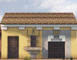 Casa Amarilla, Santiago de los Caballeros, Guatemala Minecraft