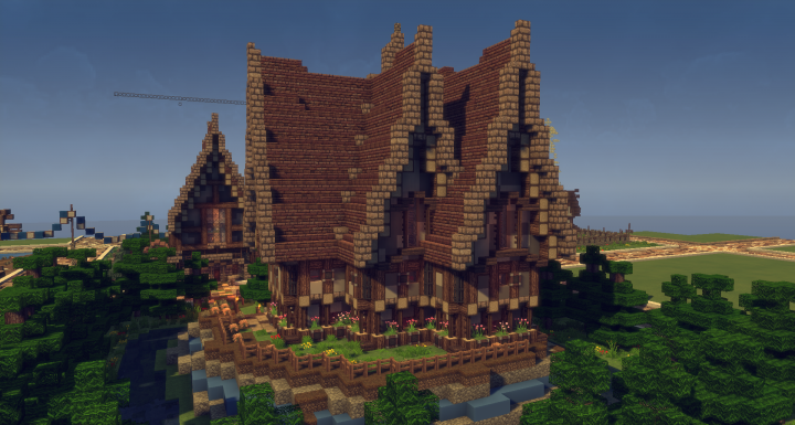 Popular Server Project : Medieval Woodenhouse on Creative Plot