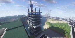 THEpsycho's futuristic tower Minecraft Map & Project