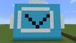 Burning Fortnite V Buck custom map Minecraft Map & Project