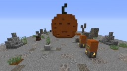 A SPOOKY DOOR FOR MUMBO - Pumpkin Door Minecraft Map & Project
