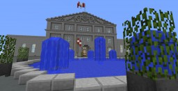 Rideau Hall Minecraft Map & Project