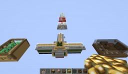 Busca el Boton Minecraft Map & Project