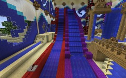 Aquapark WaterSlide Minecraft Map & Project