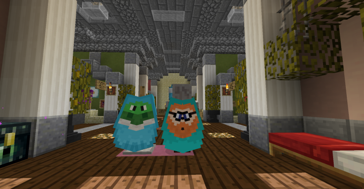 The latest additions that came with the 1.13 update!