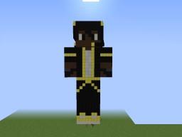 YellowMCG Statue Minecraft