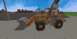 Doosan DL420 Wheel Loader Minecraft Map & Project