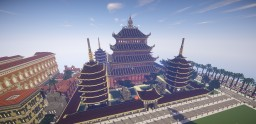 Temple of the dragon Minecraft Map & Project