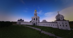 Yuriev Monastery (Russian monastery) Minecraft Map & Project