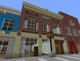 Main Street Storefront 1A - General Store Minecraft Map & Project