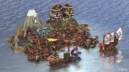 Hisakata city Minecraft