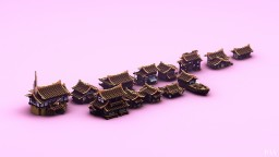 Japan Houses Building Bundle by _PAV_ Minecraft Map & Project