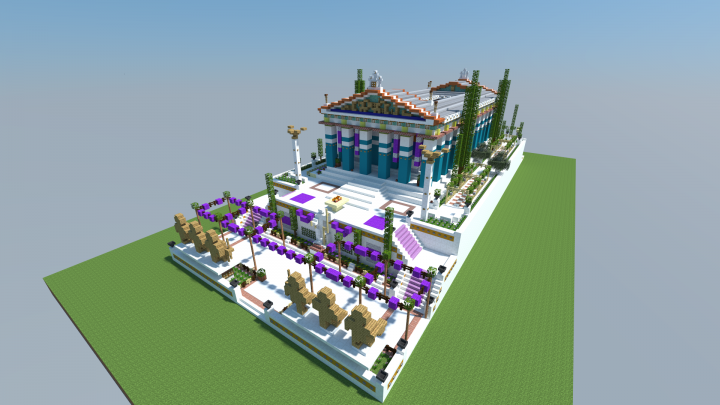 Popular Project : AC Oydssey Temple of Zeus at Olympia