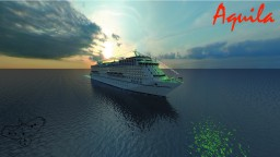 M/S Aquila- Full Interior, Custom Cruise Ship [Download] Minecraft Map & Project