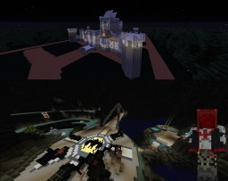 WAYNE MANOR & THE BATCAVE--NEW 52 Minecraft Map & Project
