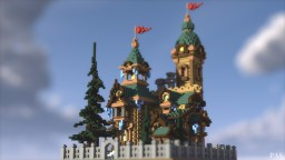 "Russian ""KGB Mansion"" - Behind the Picket Fence Minecraft"