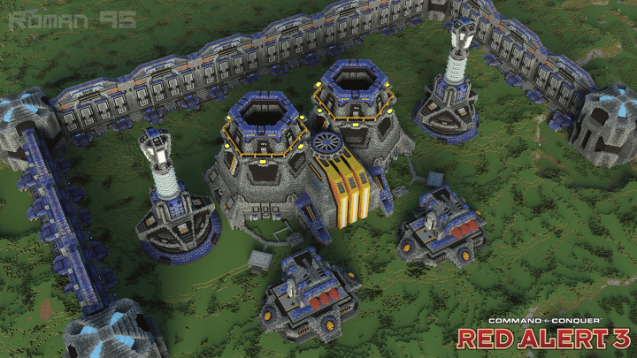 Popular Project : Power plant and defense system | C&C Red Alert 3
