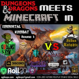 DnD meets MC in Goblins vs Knights Open Beta Halloween Extravaganza Minecraft Blog Post